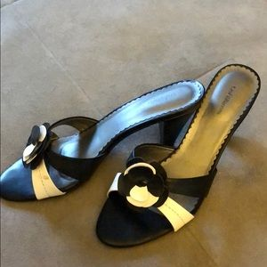 Slide on heels